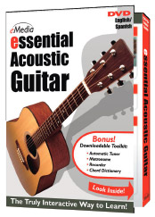 eMedia Essential Acoustic Guitar DVD [DG07062]