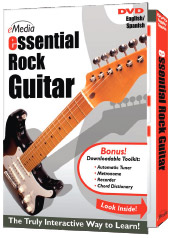 eMedia Essential Rock Guitar DVD