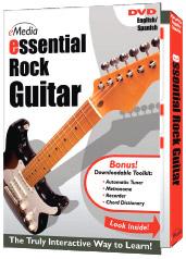 eMedia Essential Rock Guitar DVD