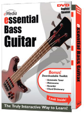 eMedia Essential Bass Guitar DVD [DG07063]