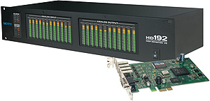 MOTU HD192 Core PCI-e