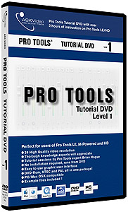 Pro Tools Tutorial DVD - Level 1