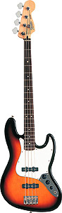 Standard Jazz Bass® - Chrome Red - Rosewood