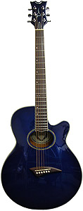Performer Archtop - Blue Burst