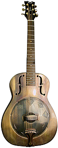 Dean Heirloom Resonator - Brass [RESHB]