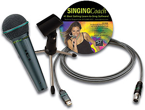 Sound Tech LightSnake Mic & Vocal Trainer [STUSBMIC100]