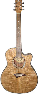 Dean Exotica Quilted Ash - Gloss Natural [EQA-GN]