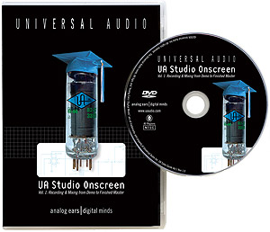 Universal Audio UA Studio Onscreen - Volume 1 (DVD)