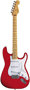 Fender Artist Series Jimmie Vaughan Tex-Mex Stratocaster® - Candy Apple [0139202309]