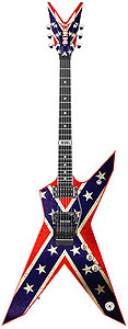 Dean Dimebag Dixie - Rebel