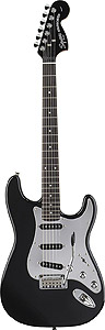 Black and Chrome Standard Stratocaster Special - Black - Rosewood