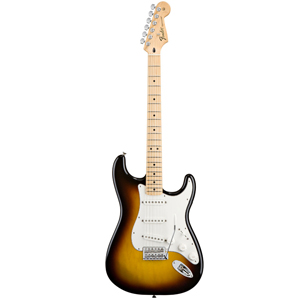 Fender Standard Stratocaster - Brown Sunburst /Maple Fretboard