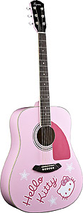 Squier Hello Kitty® Dreadnought - Pink - Rosewood [0939000070]