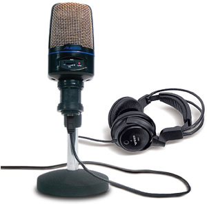 Alesis USB Podcast Microphone Kit []
