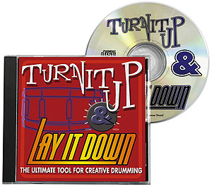 Rhythm Tech Turn It Up and Lay It Down - Volume I CD