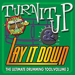 Rhythm Tech Turn It Up and Lay It Down - Volume III CD
