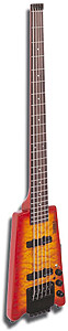 Hohner B2AV Headless Bass - Quilted Maple Top [B2AV-CRS]