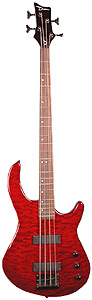 Dean Edge 1 Quilted Top - Transparent Red