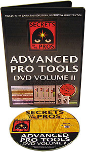 Secrets of the Pros Advanced Pro Tools DVD Volume 2 []