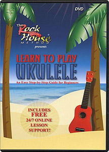 8thstreet Learn to Play Ukulele DVD