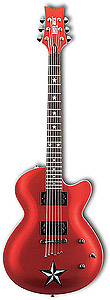 Daisy Rock Rock Candy Custom - Red Star [6767]