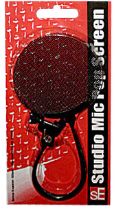 Studio Mic Pop Screen