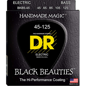 DR BKB5-45 Black-5 String