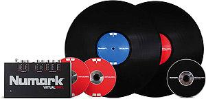 Virtual Vinyl Computer DJ System