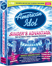 American Idol Singers Advantage - Female Version (7 CD/1 DVD Voice Training System)
