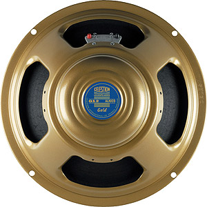 Celestion Alnico Gold Guitar Speaker -  8 Ohm