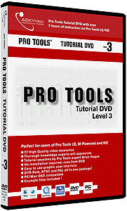 Ask Video Pro Tools Tutorial DVD - Level 3 [PROL3]