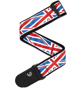 Daddario Planet Waves Union Jack Guitar Strap