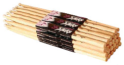 OnStage Hickory 5A HW5A - Brick of 12 Pair [HW5A]
