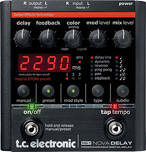 TC Electronic ND-1 Nova Delay [960610005]