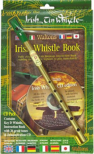 Waltons Irish Tin Whistle CD Pack [WM1514]