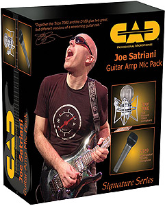 Joe Satriani Guitar Amplifier Microphone Pack