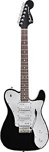 Fender J5 Triple Telecaster Deluxe - Black