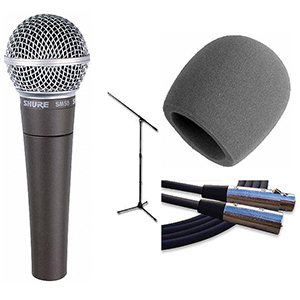 Shure SM58 Classic Mic Pack