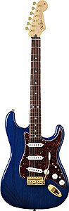 Fender Deluxe™ Players Stratocaster® - Saphire Blue Transparent Rosewood [0133000327]