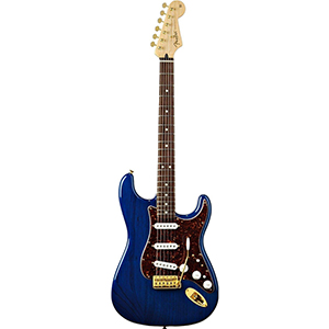 Deluxe Players Stratocaster - Saphire Blue Transparent Rosewood