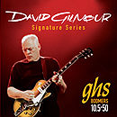 GHS David Gilmour Signature Strings - Red Set