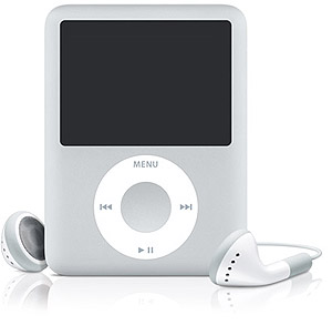 Apple iPod Nano - 8GB G3 Silver [MA980LL/A]