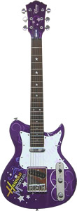 Electric Hannah Montana Guitar - Purple