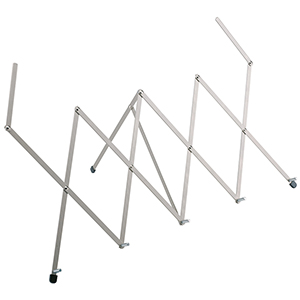 Konig Meyer 124 Expandable Tabletop Music Stand - Nickel