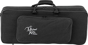 Michael Kelly Armored Feather Mandolin Case - Black Tweed [MKAFM]