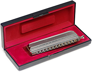 BJH-C48 12 Hole Chromatic Harmonica