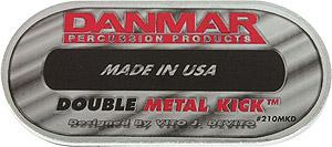 Danmar Double Metal Kick Pad [DAN210MKD]