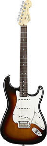 American Standard Stratocaster® - 3-Color Sunburst with Case - Rosewood
