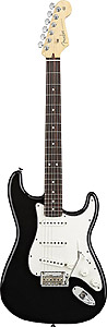 2008 American Standard Stratocaster - Black with Case - Rosewood
