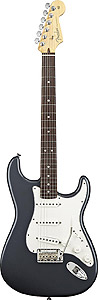 American Standard Stratocaster - Charcoal Frost Metallic with Case - Rosewood